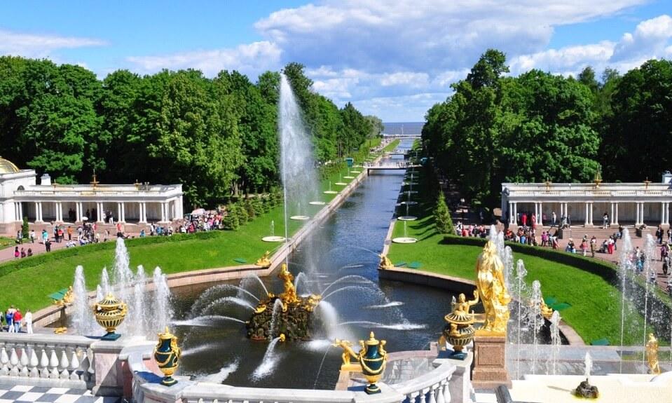 открытие фонтанов, закрытие фонтанов туры Санкт-Петербург из Нижнего Новгорода